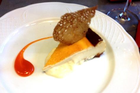 Tarta de Queso restaurante Cañadio