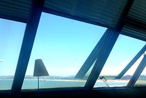 vistas desde el restaurante del Museo Marítimo