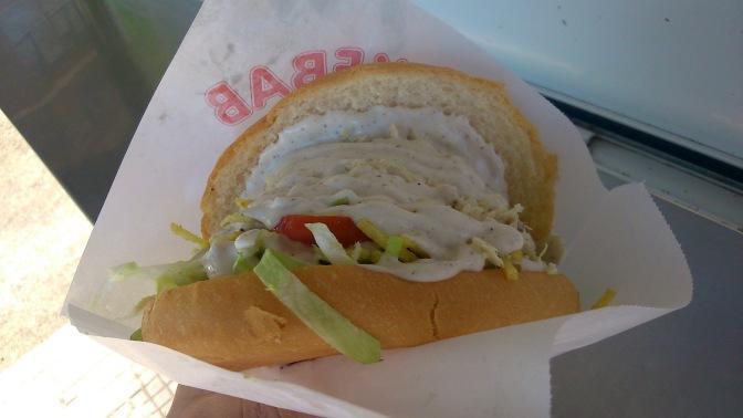Stritfud santanderino: el sandwich peruano de Las Estaciones